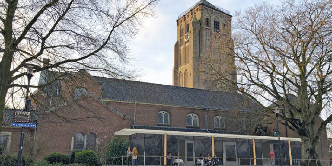 Kerk met serre